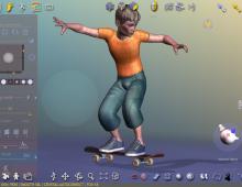 Logiciel de création 3D QUIDAM