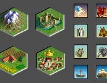Icones pour un jeu de rôle
