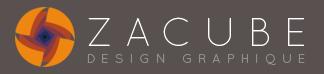ZACUBE - Design graphique, illustration 3D, UX design