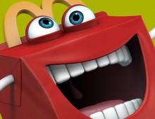 Mascotte Mister Happy